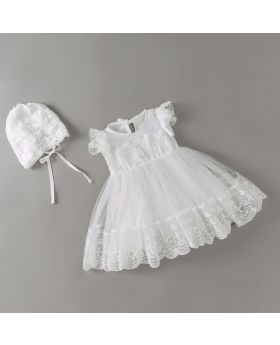 ANNE - Baptism Dress & Cap