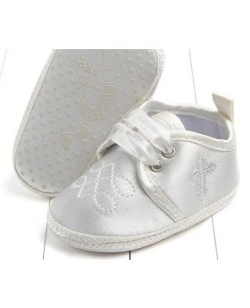 Ivory - Boys Baptism Shoes-M