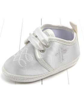 Ivory - Boys Baptism Shoes