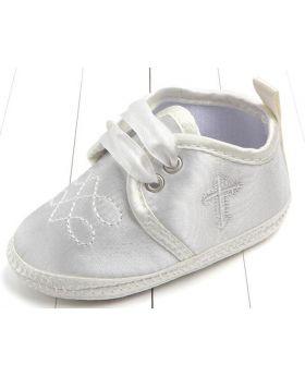 Ivory - Boys Baptism Shoes