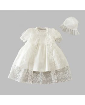 NEORAH - Christening Gown for Baby Girls