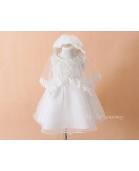 Abigail - Baptism Dress for Baby Girls